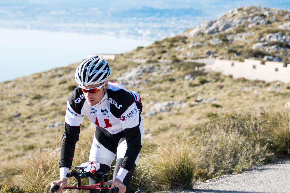 Andreas Lindén cykling Mallorca