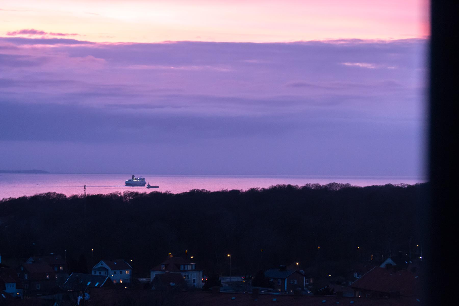 Ännu en solnedgång i Helsingborg