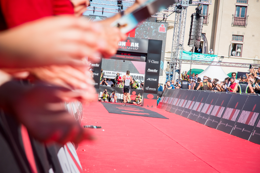 Andreas fyra i Ironman-debuten