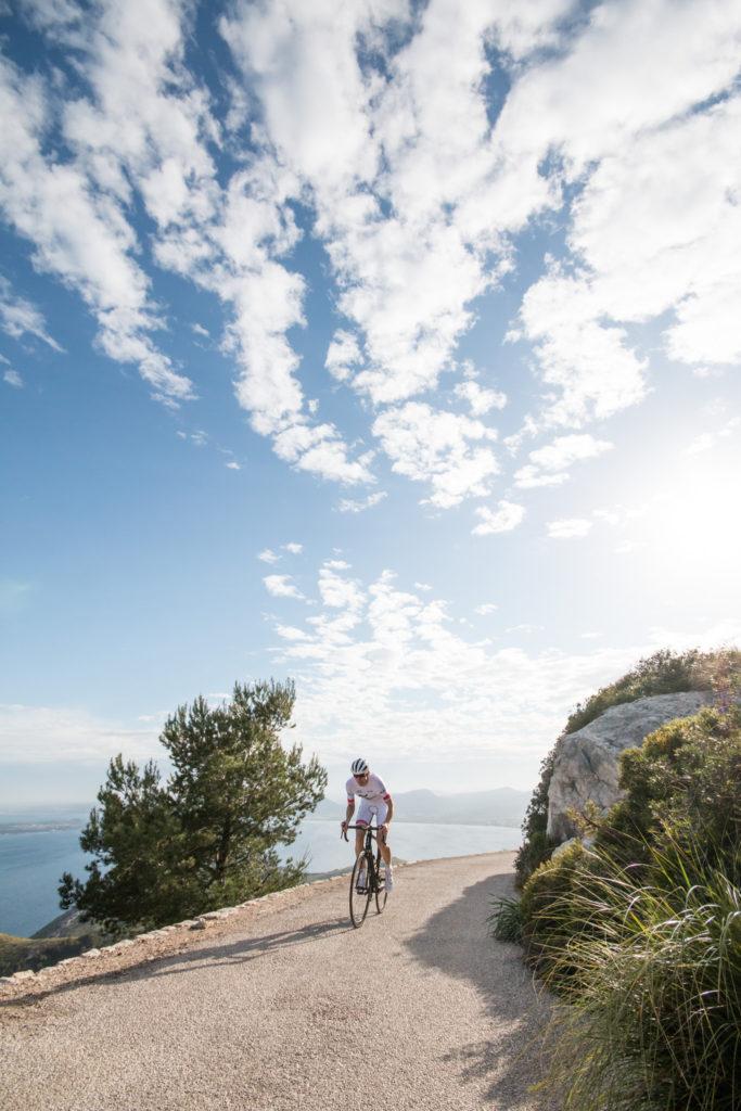 Km sport pro team cycling in Mallorca