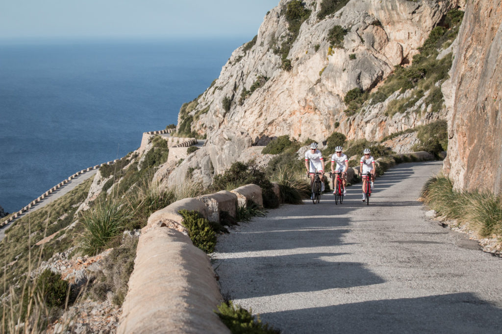 Sport photographer triathlon cycling mallorca