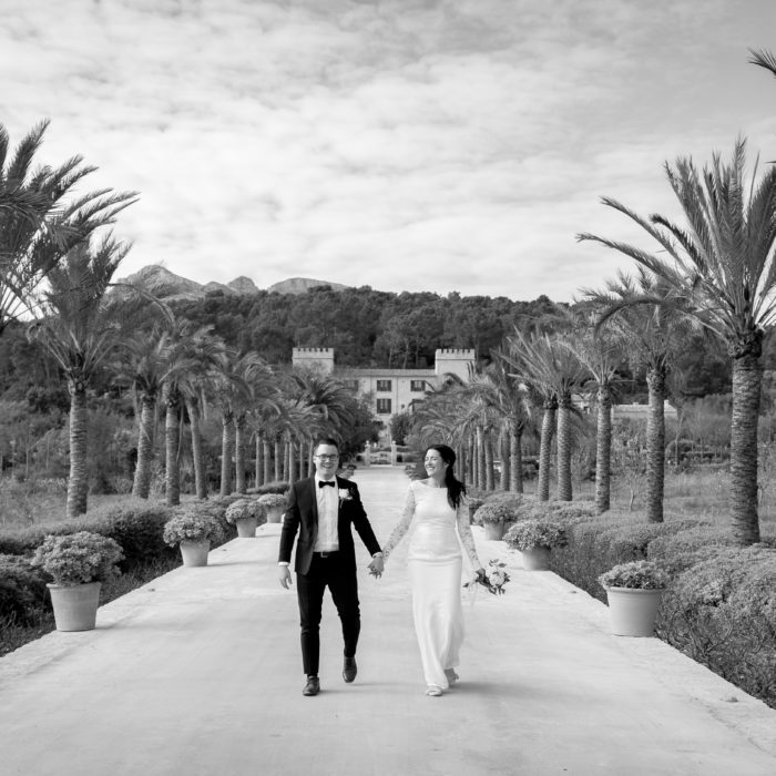 Wedding in Palma and Castell Son Claret in Mallorca
