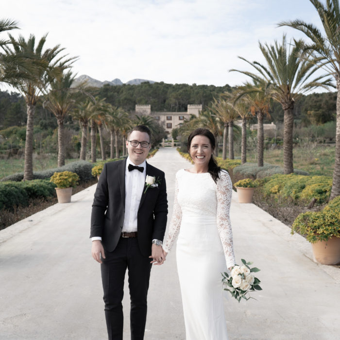 Bröllopsfotografering i Palma och Castell Son Claret – Gustav och Sabine