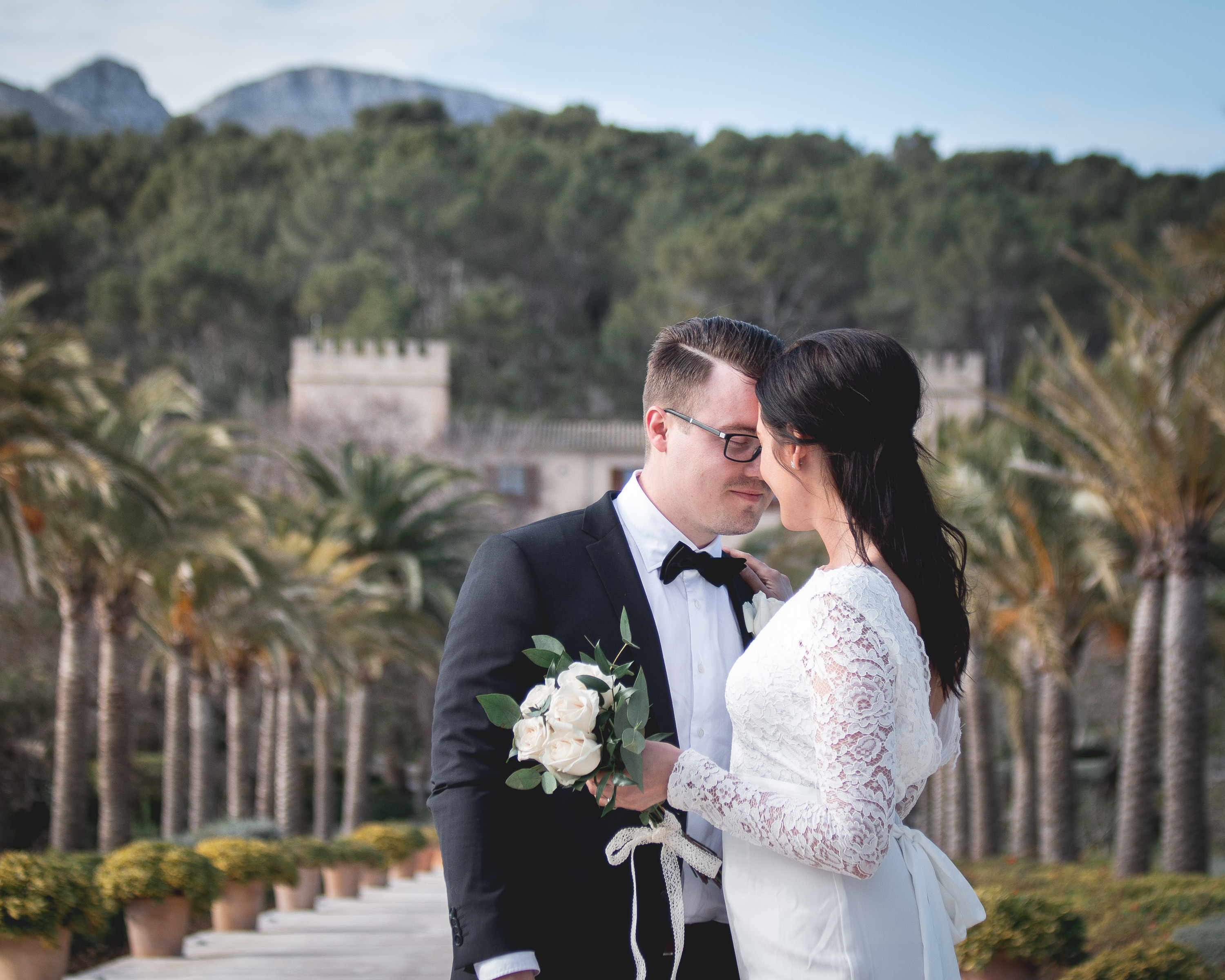 Behind the scenes: Wedding photography in Palma and Son Claret