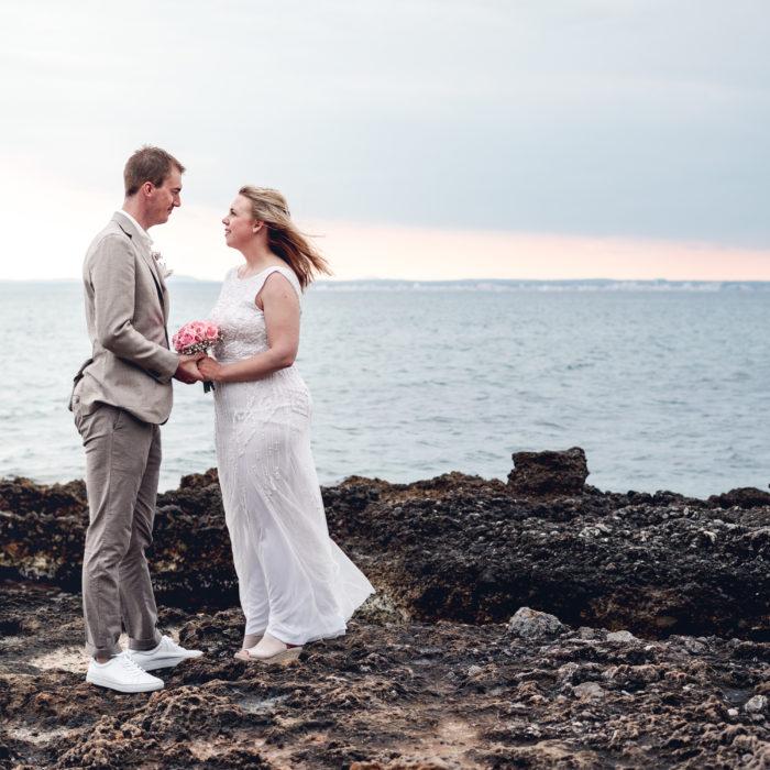 Vigsel i Alcanada – Lisa och Mathias