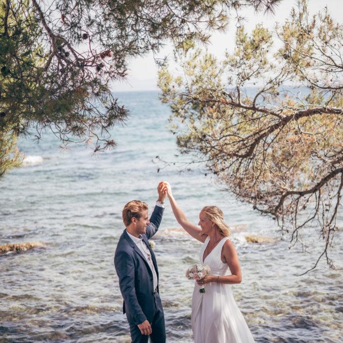 Junibröllop på Mallorca