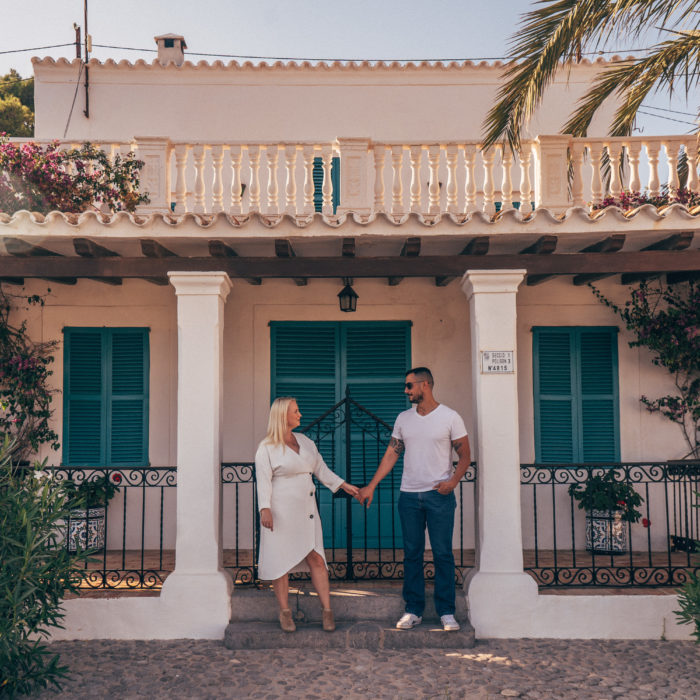 Parfotografering på Ibiza